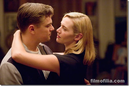 Frank (Leonardo Di Caprio, left) and April Wheeler (Kate Winslet, right) are a young couple trying to find fulfillment in an era of conformity in Revolutionary Road