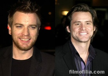 Ewan McGregor & Jim Carrey