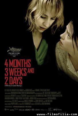 '4 Months, 3 Weeks & 2 Days' Poster