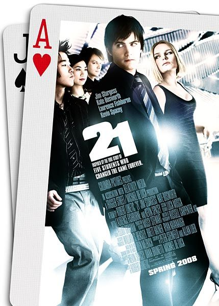 """21"" movie poster"