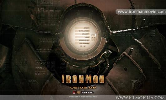 Iron Man web site