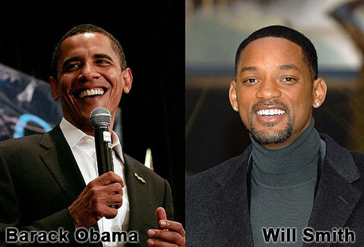 Barack Obama & Will Smith
