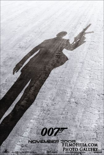 'Quantum Of Solace' movie poster