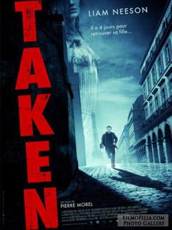 'Taken' movie poster