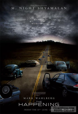 'The Happening' movie poster