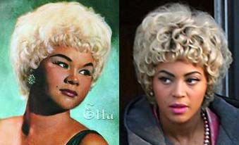 Beyonce is keen to carve out her acting career, and often puts her ...: www.filmofilia.com/beyonce-as-etta-james-first-look-1706