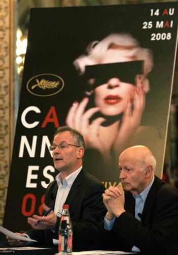 Cannes Film Festival President Gilles Jacob and Artistic Director Thierry Fremaux