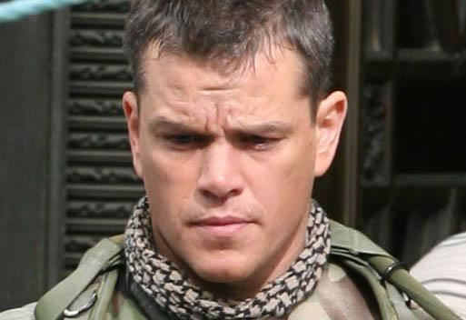 Matt Damon - 'Green Zone'
