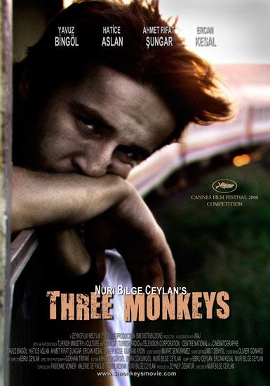 """Three Monkeys"" Poster"