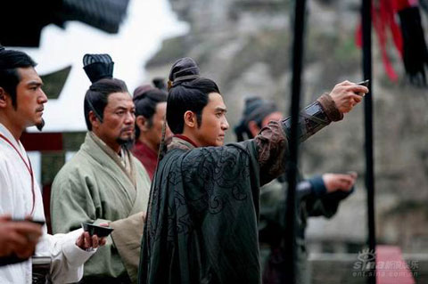 'The War of the Red Cliff' movie still