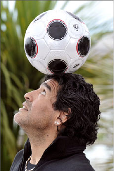 Diego Maradona - Cannes 2008