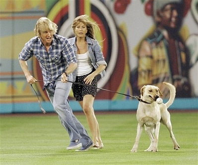 Tags : Jennifer Aniston, Marley & Me, Owen Wilson