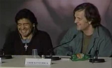 Maradona and Emir Kusturica