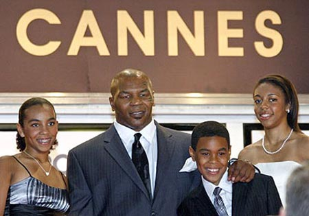 Mike Tyson, Cannes 2008.