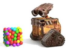 Wall-E vs Balls