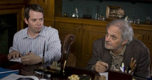 """Matthew Broderick and Alan Alda in """"Diminished Capacity"""""""