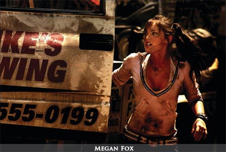 megan fox in transformers 2 hot