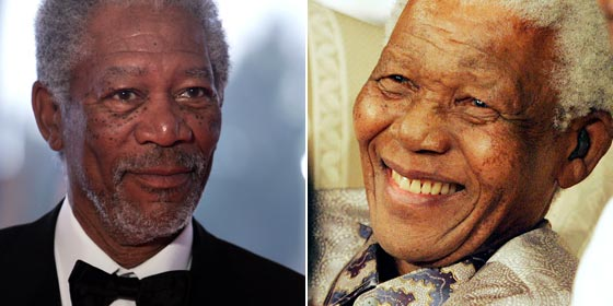 Morgan Freeman - Nelson Mandela