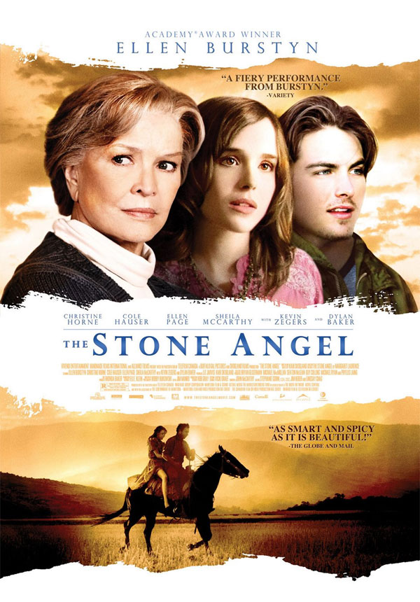 """""""The Stone Angel"""" - Poster"""