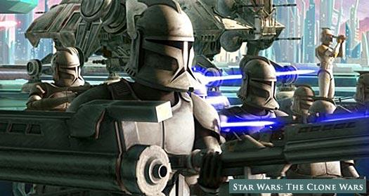 Star Wars: The Clone Wars!