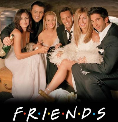 The Friends TV show ran from 1994 to 2004, wrapping up with a final show