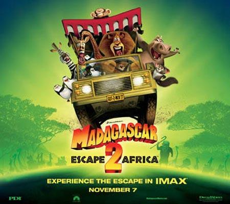 """Madagascar: Escape 2 Africa"" IMAX Poster"