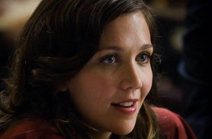 """Maggie Gyllenhaal in """"The Dark Knight"""""""