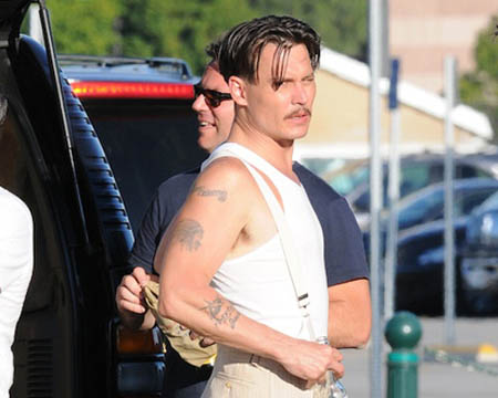 You are here: Home » Movie News » Johnny Depp as John Dillinger