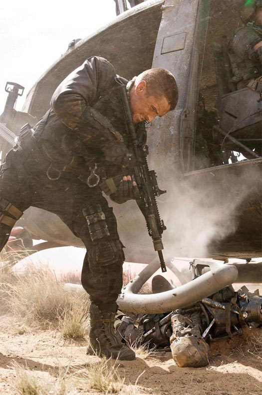 "Christian Bale in ""Terminator Salvation"""