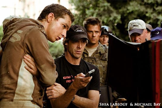 Shia LaBeouf and Michael Bay - Transformers