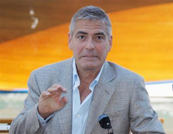 George Clooney   Venice Film Festival 2008