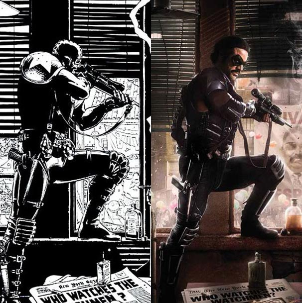 WATCHMEN Poster Comparison: 1986/2008 - FilmoFilia