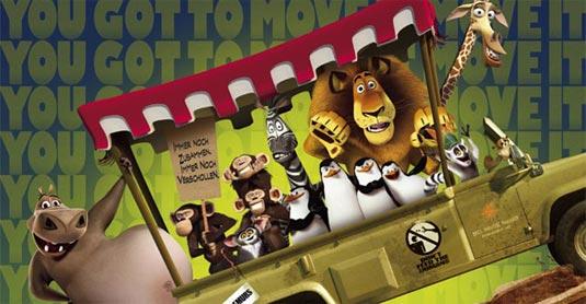 Madagascar 2: Escape 2 Africa poster