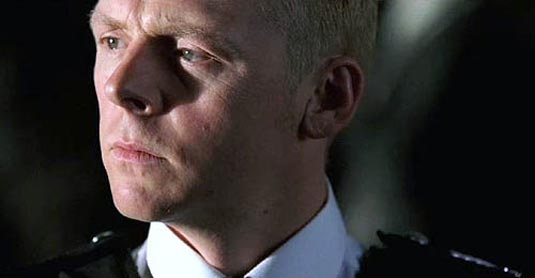Simon Pegg in Hot Fuzz