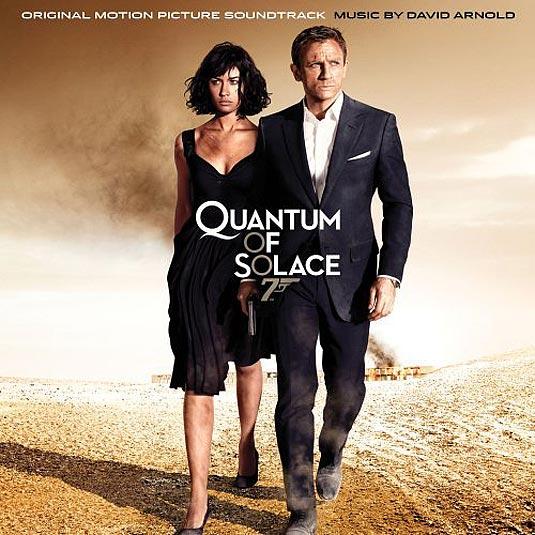 007 Quantum of Solace CD Cover