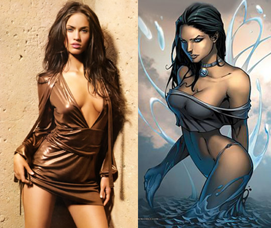 megan fox comic