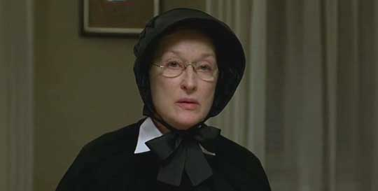 "Meryl Streep in ""Doubt"""