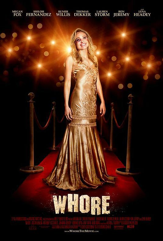 Whore poster