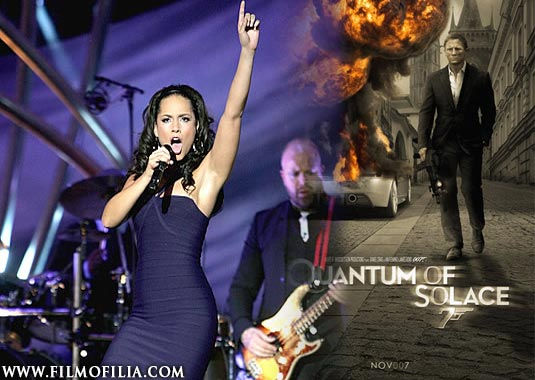 """Listen To Quantum of Solace Theme Song """"Another Way To Die"""""""