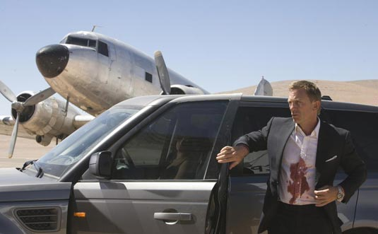 Quantum of Solace: Daniel Craig (James Bond)