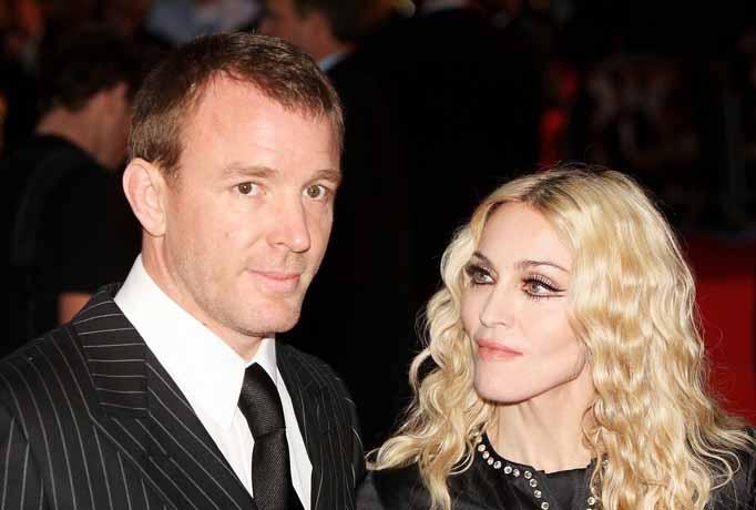 Guy Ritchie and Madonna, Rocknrolla premiere