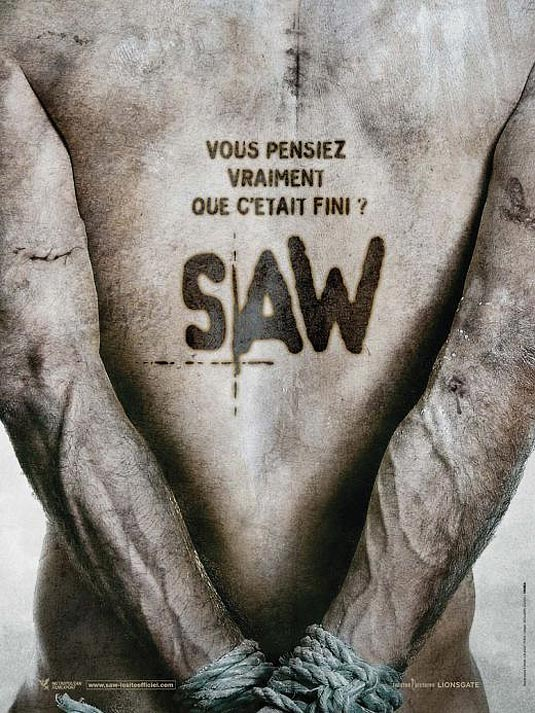 Saw V International (French) Poster