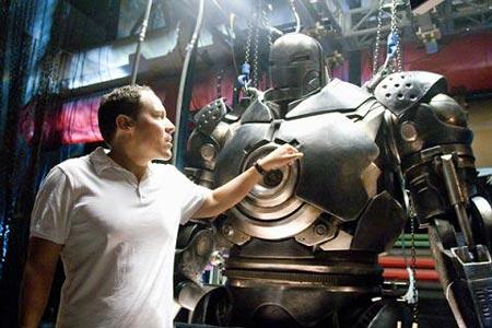 Director Jon Favreau (Iron Man)