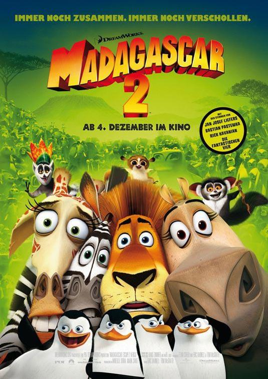 Madagascar 2 poster