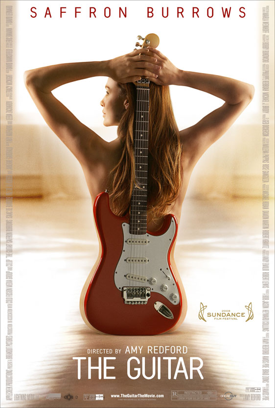 the guitar poster