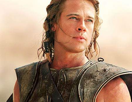 was directed by Wolfgang Petersen and saw Brad Pitt played Achilles.