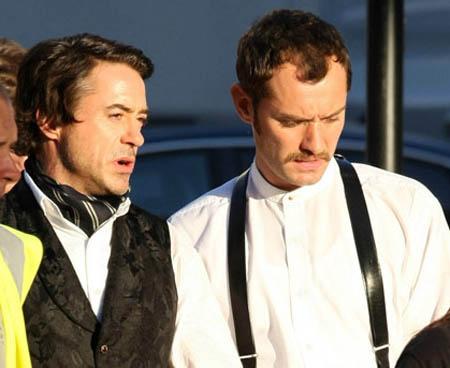 Jude Law as Dr. Watson, Sherlock Holmes