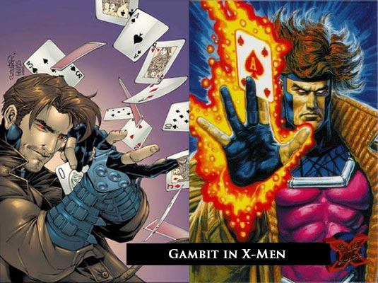 gambit x men origins. upcoming �X-Men Origins: