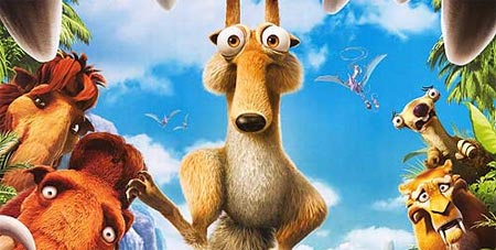Ice Age 3 Dawn Of The Dinosaurs Poster Filmofilia