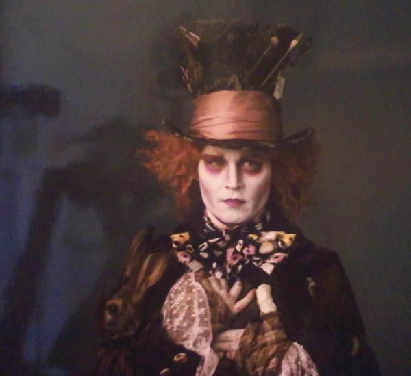 Johnny Depp As Mad Hatter First Look?